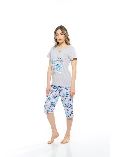 Estiva Pijama Takım Gri